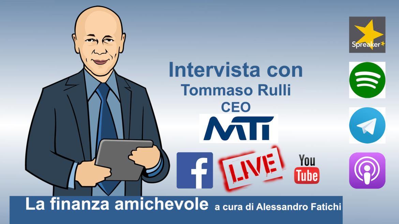 La sostenibilità negli investimenti, con Tommaso Rulli